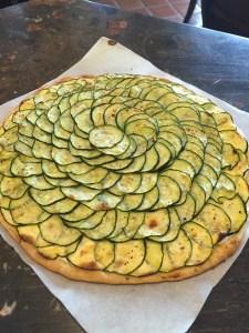 Zucchini Tart cooked