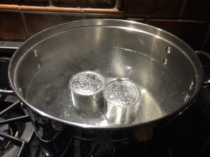 Banoffee boiling cans