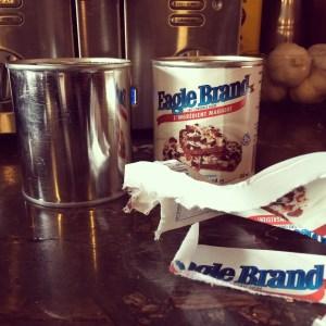 Banoffee Condenced Milk insta