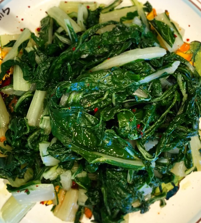 Swiss Chard with Olive Oil