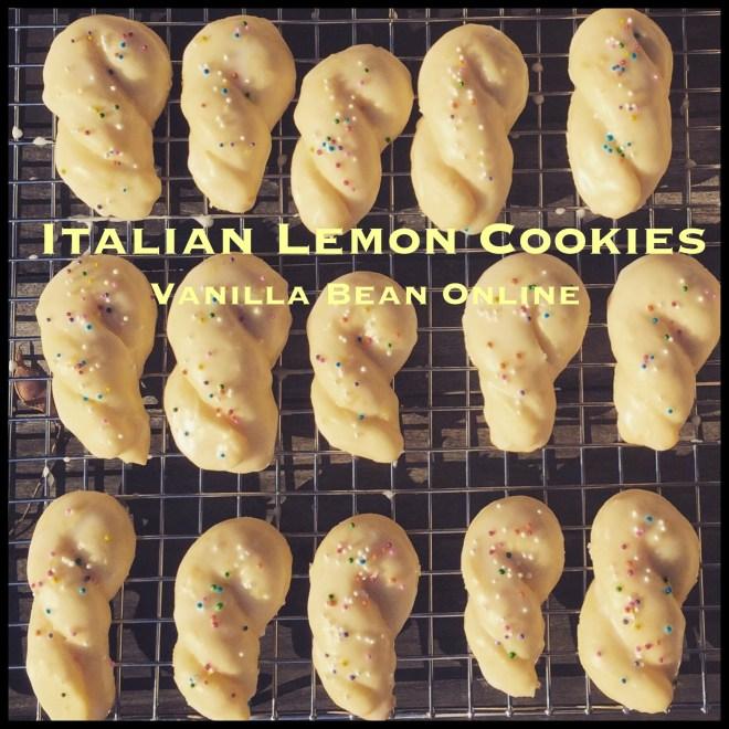 Italian Lemon Cookies Title