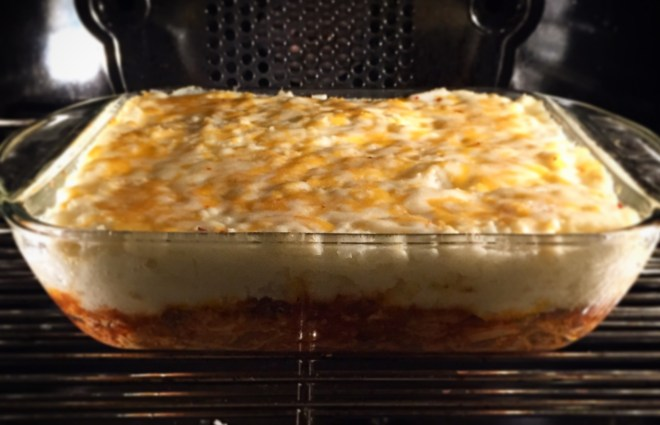 New Shepherds pie oven