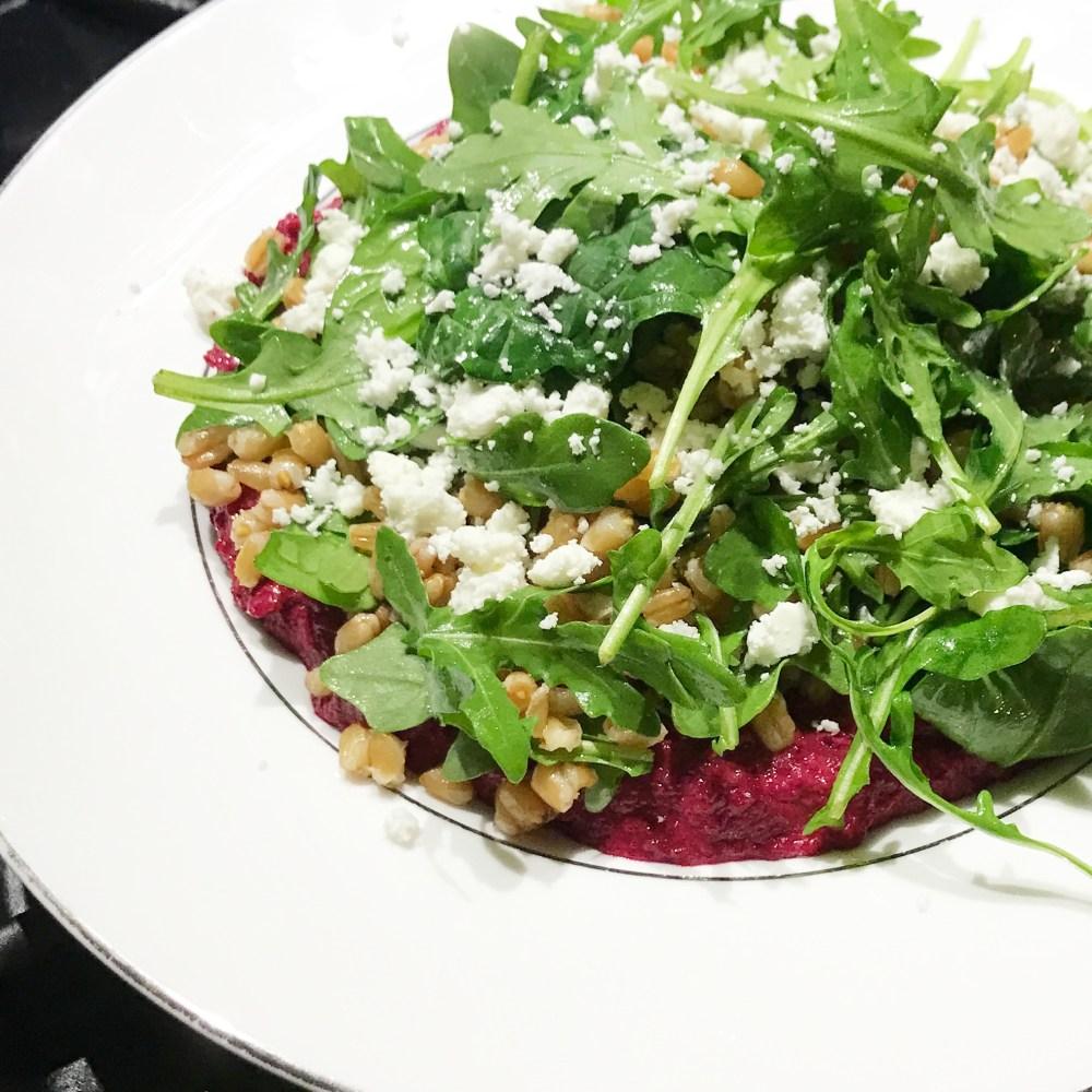 arugula-farro-beet-hummus-salad-insta-side