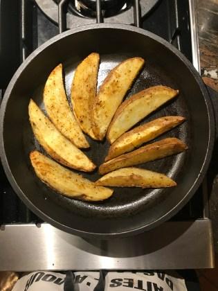 Carne Asada potato wedges