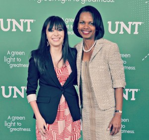 Meeting Condoleezza Rice