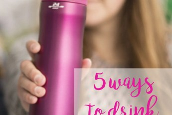 5 ways to drink more water // stephanieorefice.net