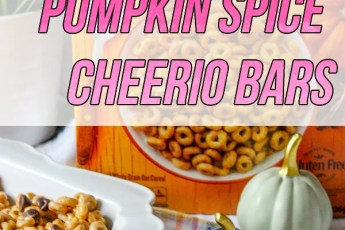 Pumpkin Spice Cheerio Bars Recipe