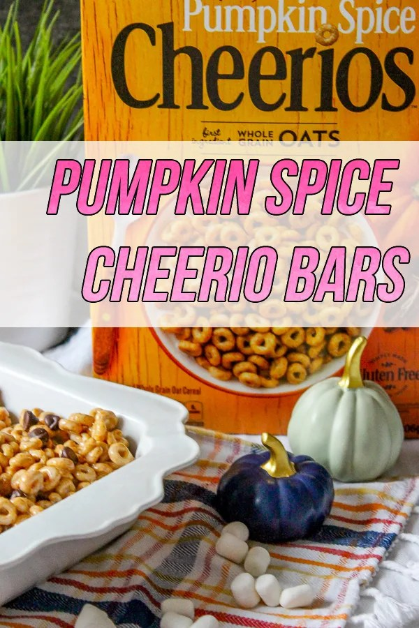 Pumpkin Spice Cheerio Bars Recipe