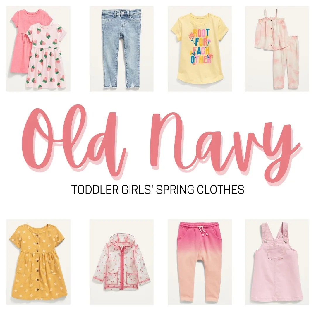 Old Navy Toddler Girls Spring Clothes
