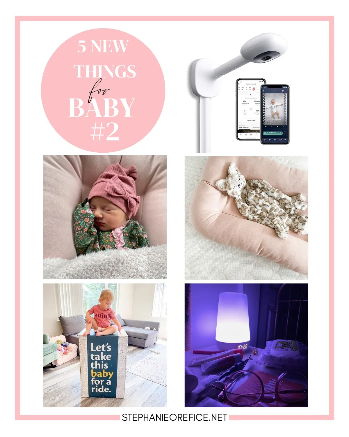 5 new things for Baby #2