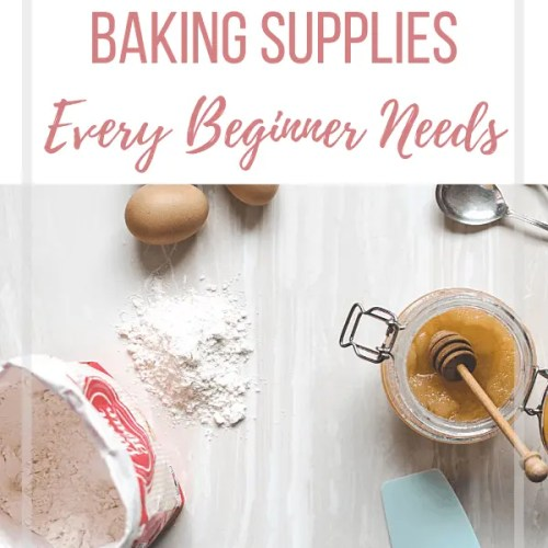 essential baking supplies for beginners