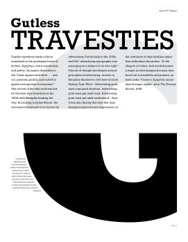 Type Specimen Booklet, spread 3
