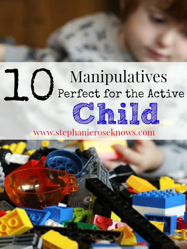 Manipulatives for the active child