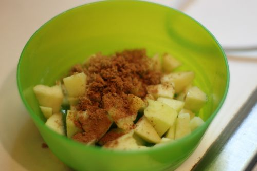 Mini Apple Pie Process