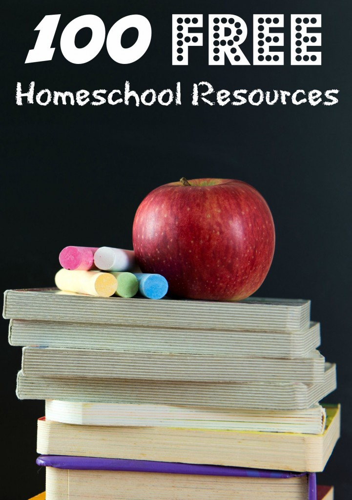 100 Free Homeschooling Resources