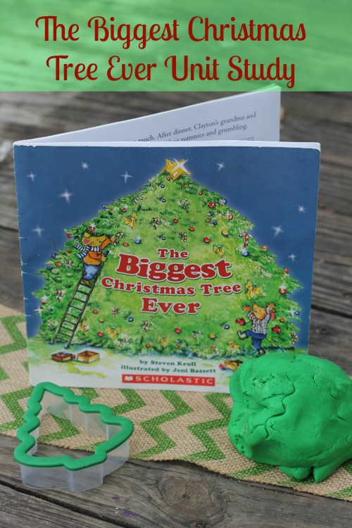 The Biggest Christmas Tree Ever Unit Study