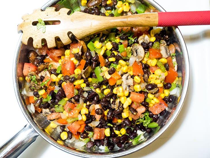Black Bean & Corn Enchiladas