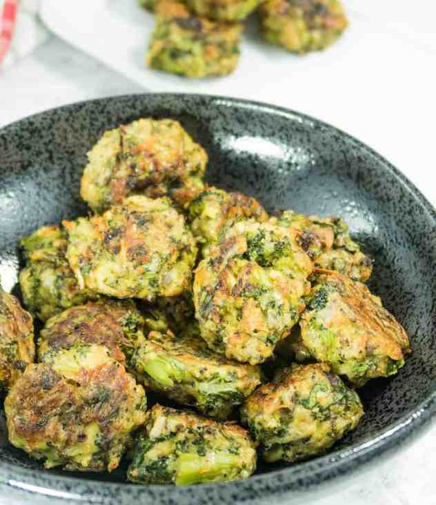 Broccoli Parmesan Spinach Bites