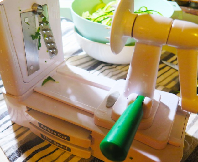 Zucchini Spinach Alfredo