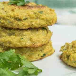 Cauliflower & Chickpea Patties
