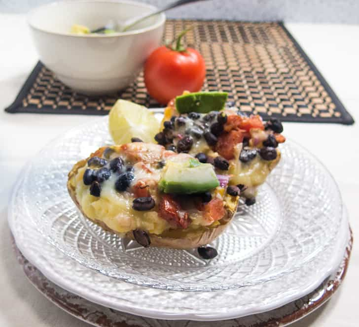 Mexican Twice Baked Potatoes