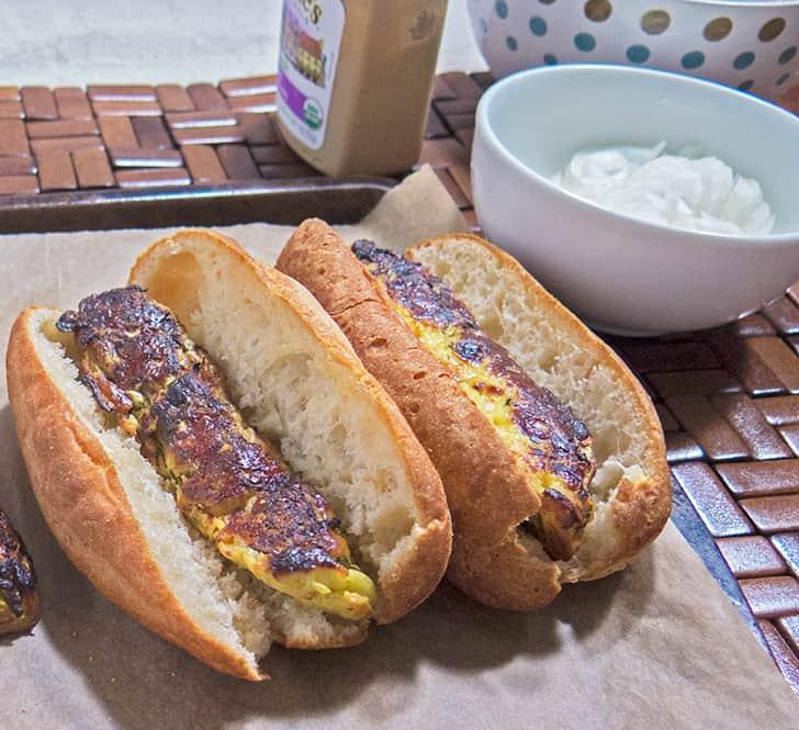 Zucchini Veggie Hot Dogs
