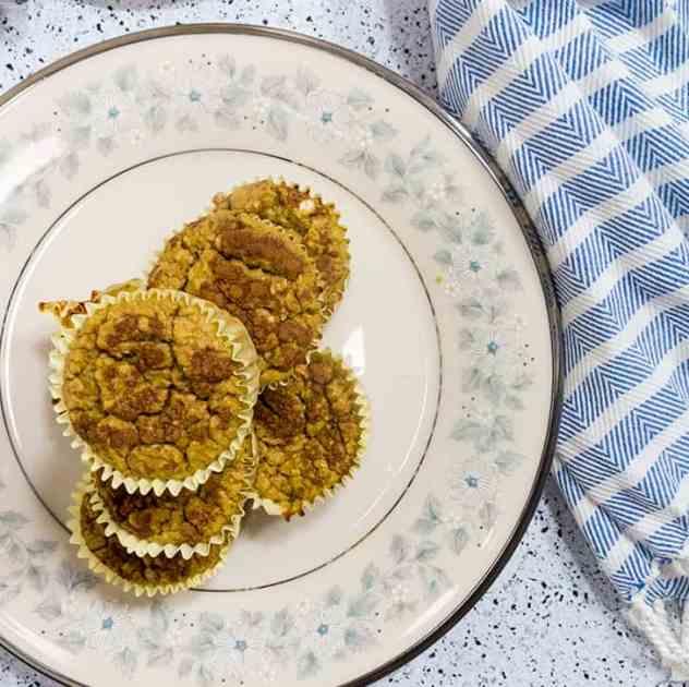 Pumpkin Banana Oat Muffins