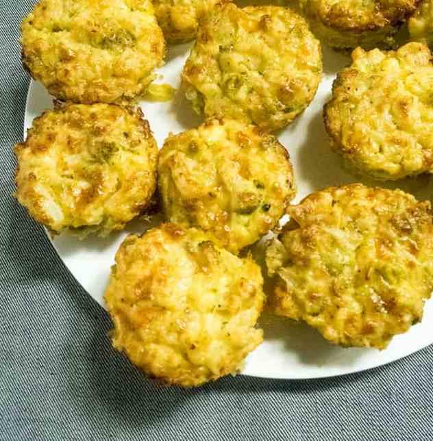 Cauliflower Mac & Cheese Cups