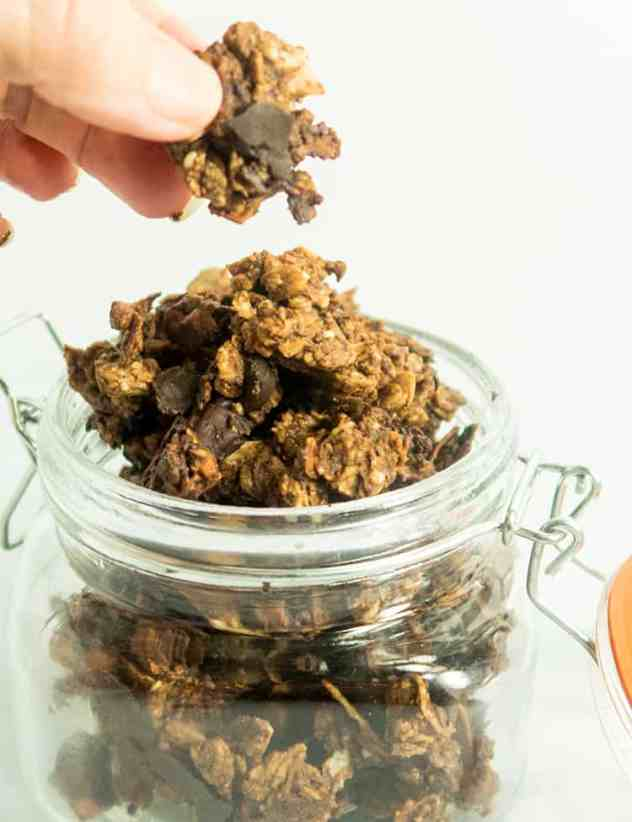 Double Chocolate Coconut Granola