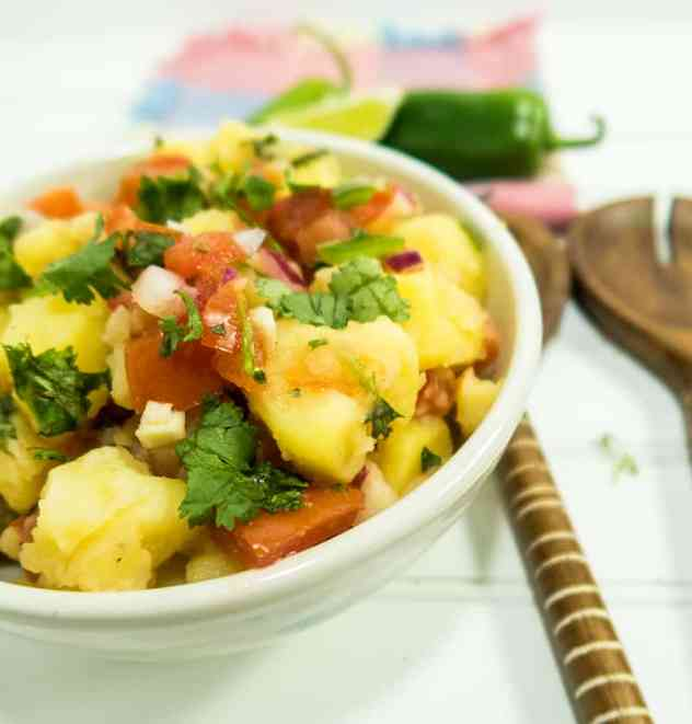 Garden Salsa Potato Salad