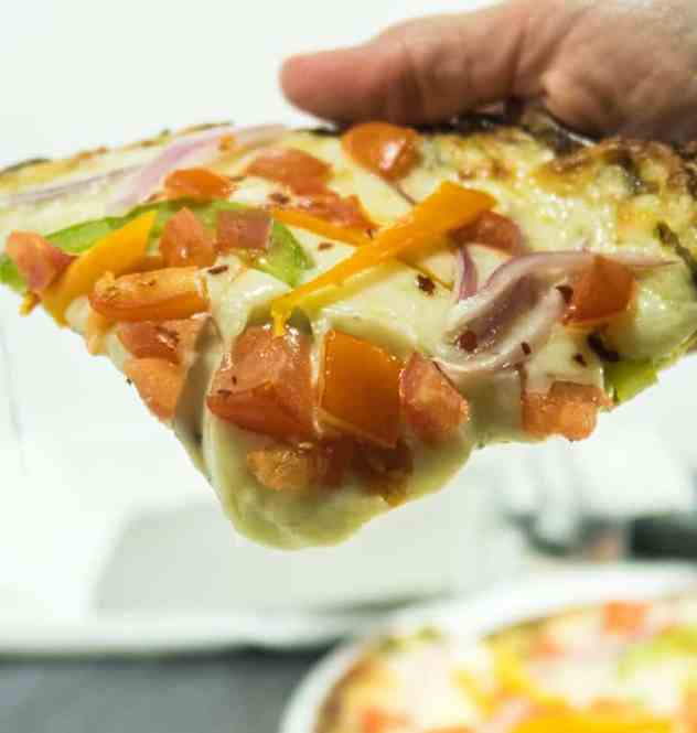 Easy Zoodle Pizza Crust