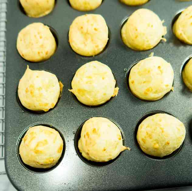 Easy Brazilian Cheese Puffs