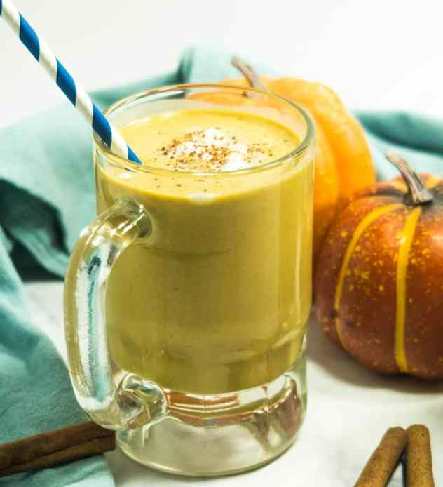 Pumpkin Pie Spice Coffee Smoothie