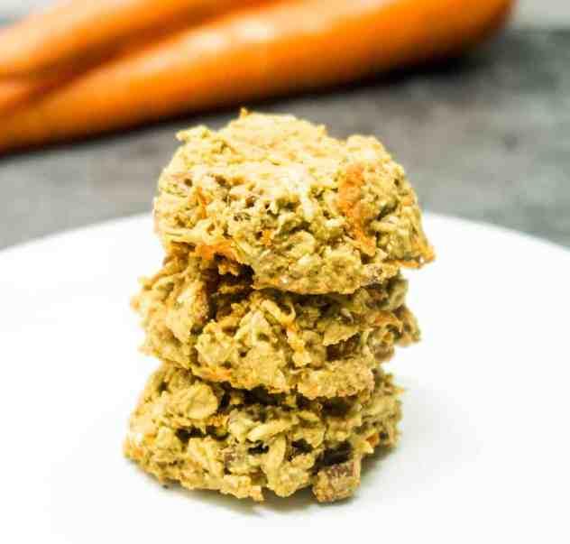 Ginger Carrot Cake Oatmeal Cookies