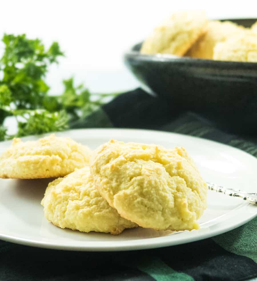 Almond Flour Drop Biscuits(Gluten Free)