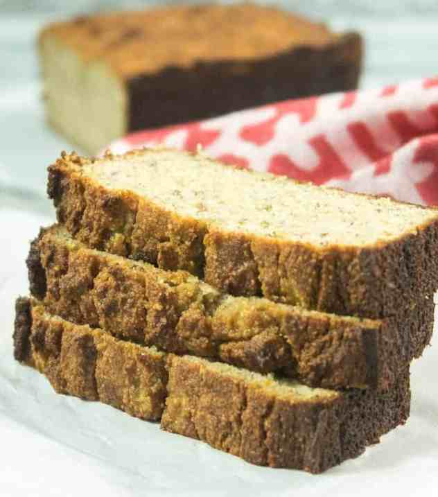 Super Moist Banana Bread (Gluten Free)