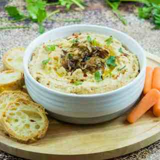 Balsamic Caramelized Onion Hummus