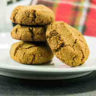 Soft Ginger Molasses Cookies (Gluten Free)