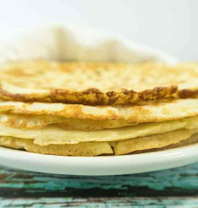 Soft Almond Flour Tortillas (Gluten Free)