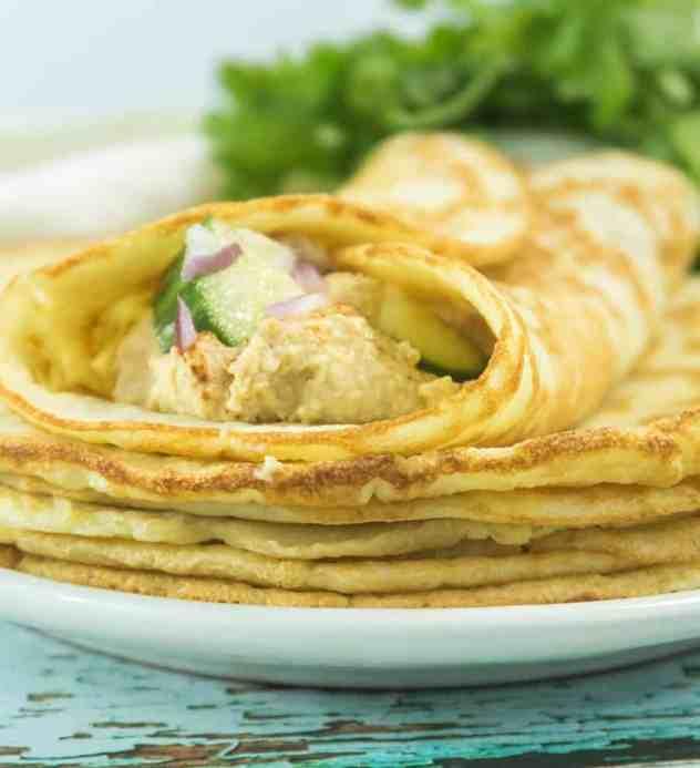 Soft Almond Flour Tortillas (Gluten Free)