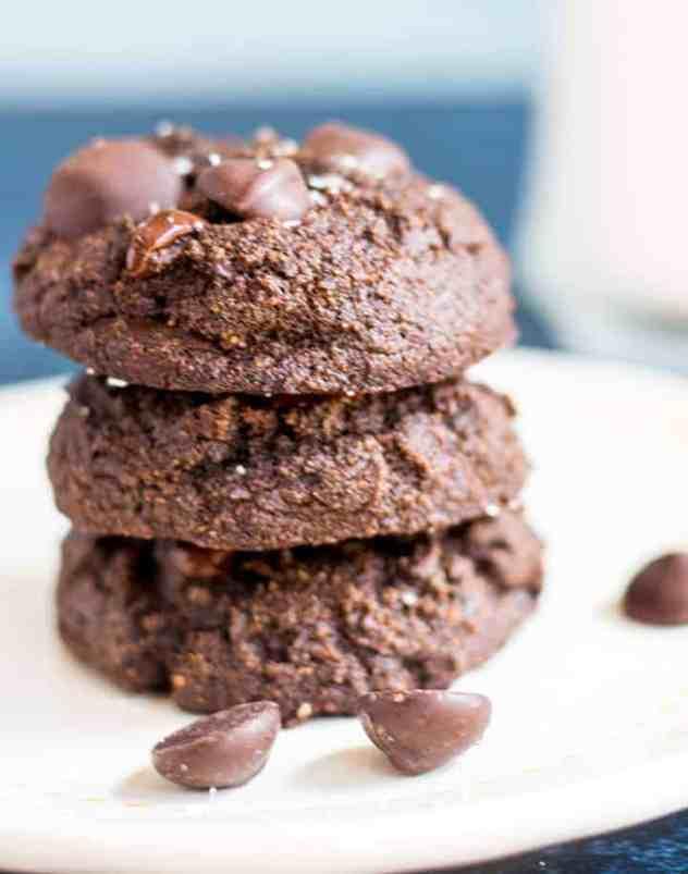 Chocolate Coconut Flour Cookies
