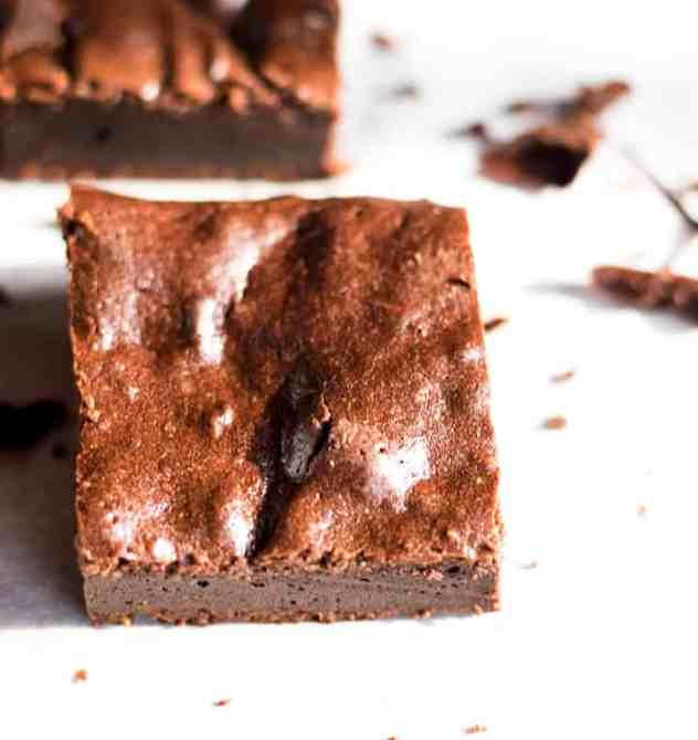 Rich Fudgy Flourless Brownies