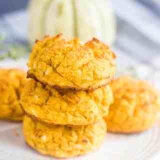 Savory Pumpkin Flour Drop Biscuits