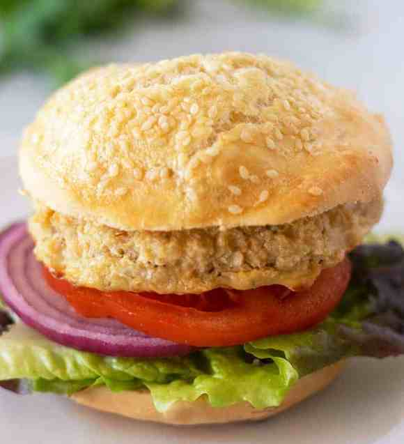 Chickpea Burgers