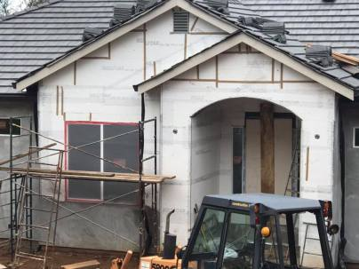 new build front door
