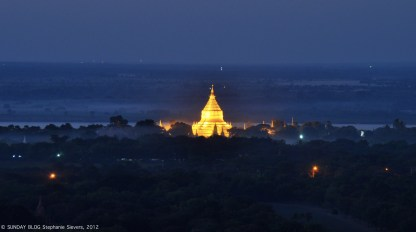 Golden dreams, Bagan