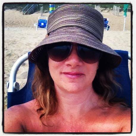 One of my favorite beach hats.