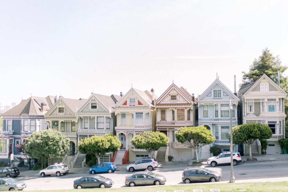 Painted Ladies, San Francisco Vacation. Traveling Photographer. Orange County Photographer. - Stephanieweberphotography.com