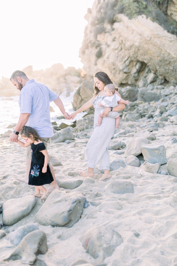 Beach Family Session, Orange County Photographer by Stephanie Weber Photography. - stephanieweberphotography.com