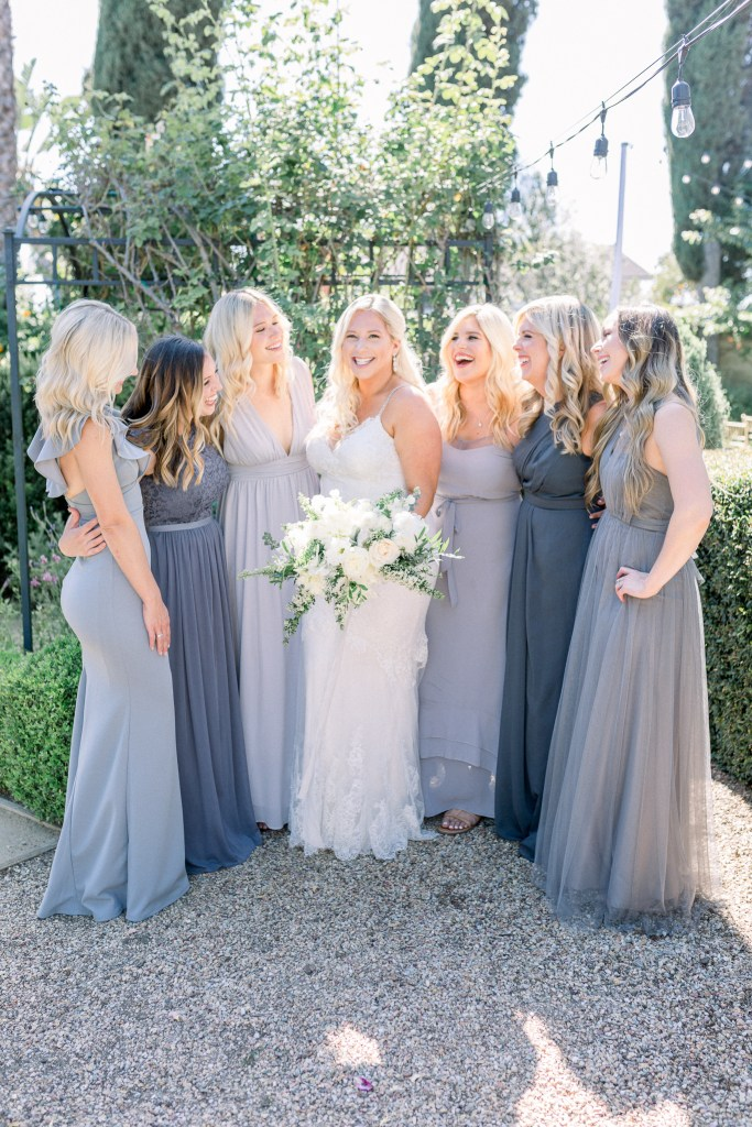 Bridal Party, Orange County Wedding Photographer, Stephanie Weber Photography. - stephanieweberphotography.com
